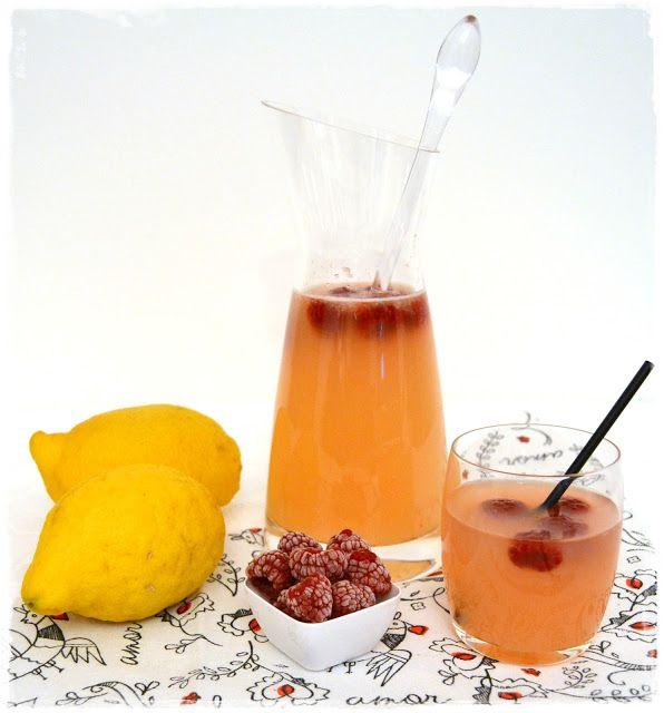 Sweet Gula: Limonada de Lima e Limão com Framboesa
