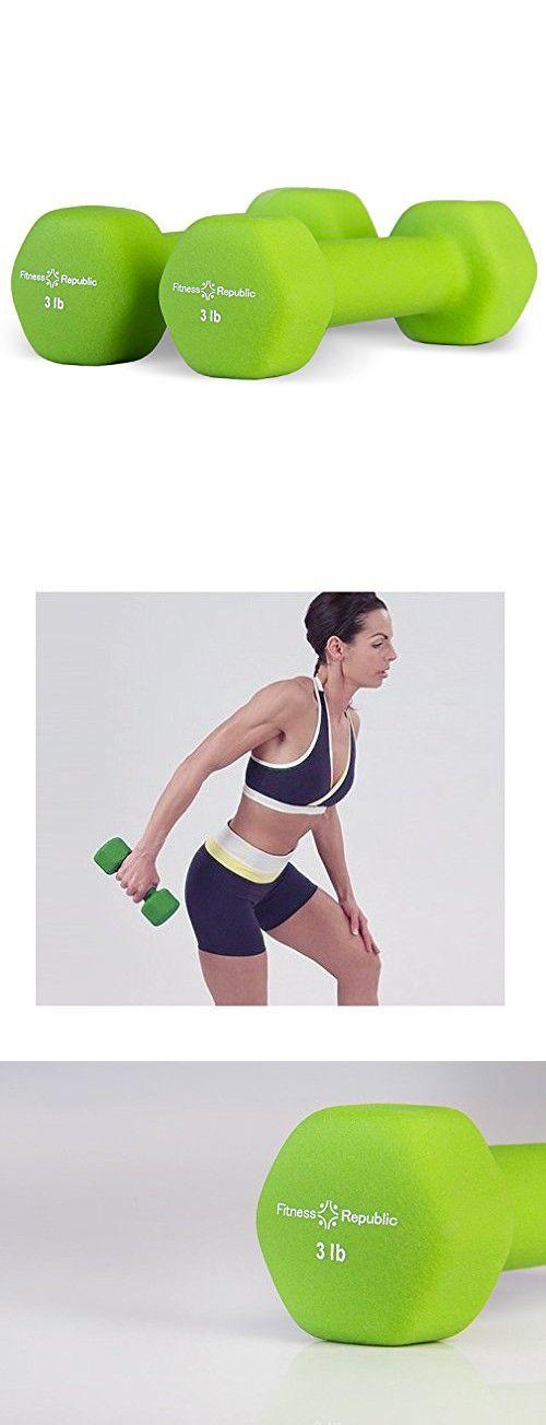 Neoprene Dumbbells 3 lbs Set - Fitness Republic