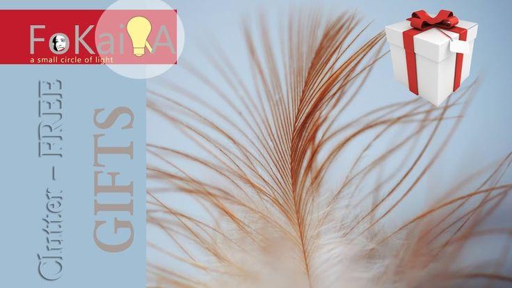 mini idea 152 | Clutter- Free gift ideas