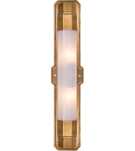 Visual Comfort TOB2234HAB WG Thomas OBrien Langston 2 Light 5 Inch  Hand Rubbed Antique
