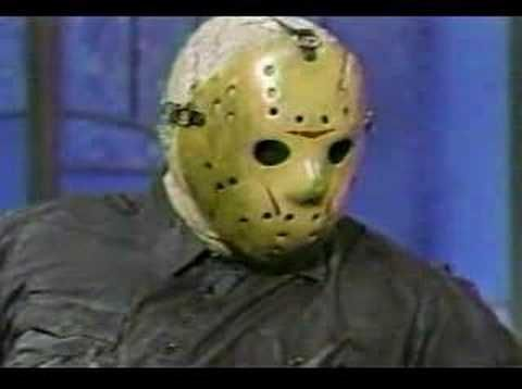 Jason Voorhees on the Arsenio Hall Show #horror #f13 soooo funny;)