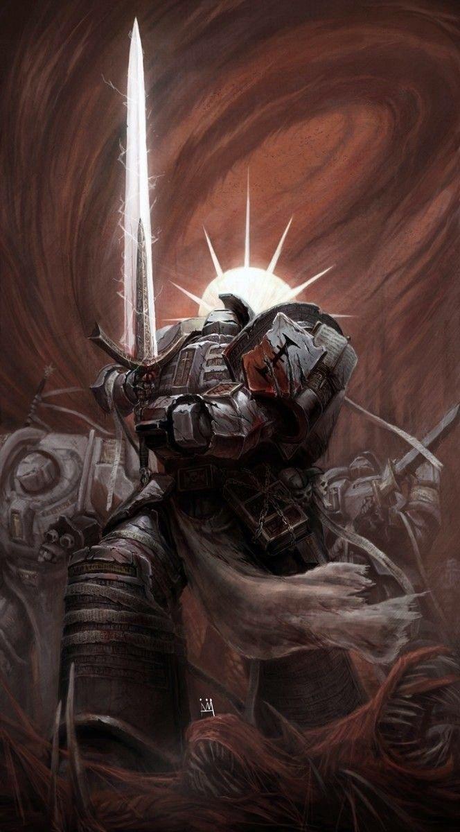 Grey Knights Warhammer 40k Artwork Warhammer Warhammer 40k