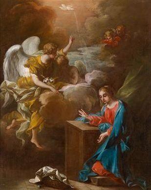 Raffaello Vanni, The Annunciation to the Virgin
