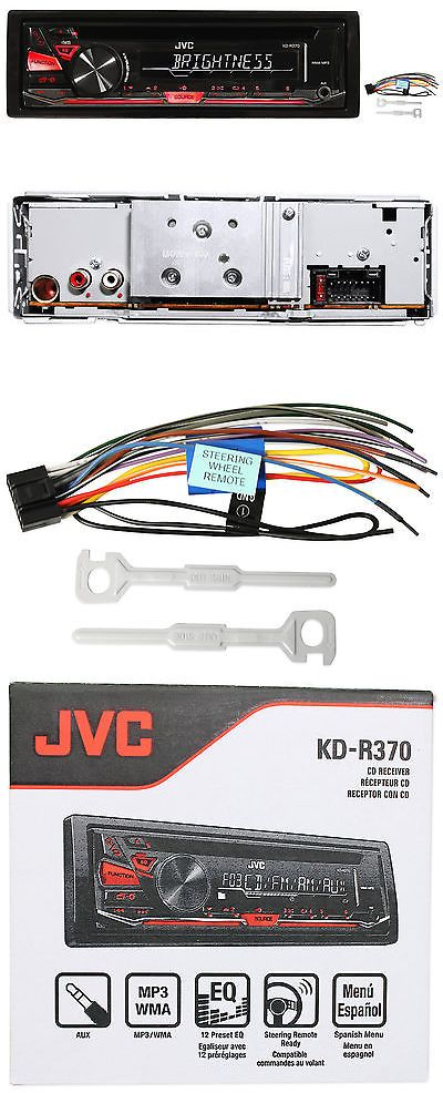 Car Audio In-Dash Units: Jvc Kd-R370 In-Dash Car Stereo Cd Mp3 Player Receiver W Dual Aux Inputs Kdr370 -> BUY IT NOW ONLY: $62.95 on eBay!