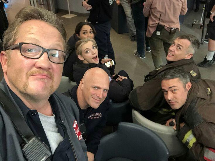 Chicago Fire Season 6 bts