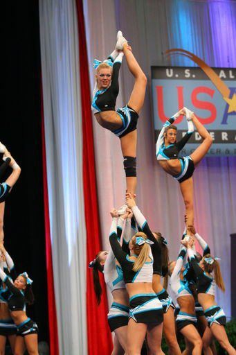 Maddie Gardner, cheer, competition, stunt,  cheerleading, cheerleader