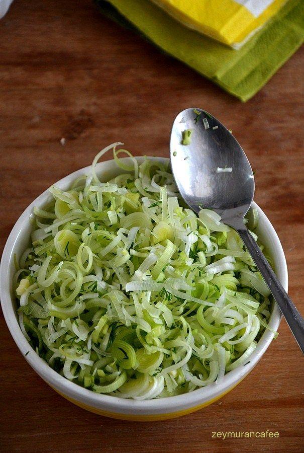 pırasa salatası nasıl yapılır