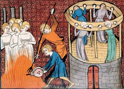 Torturing and execution of witches in medieval miniature - Witchcraft - Wikipedia, the free encyclopedia