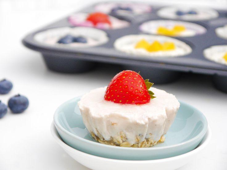 Yoghurtbites uit de vriezer | Chickslovefood.com | Bloglovin'