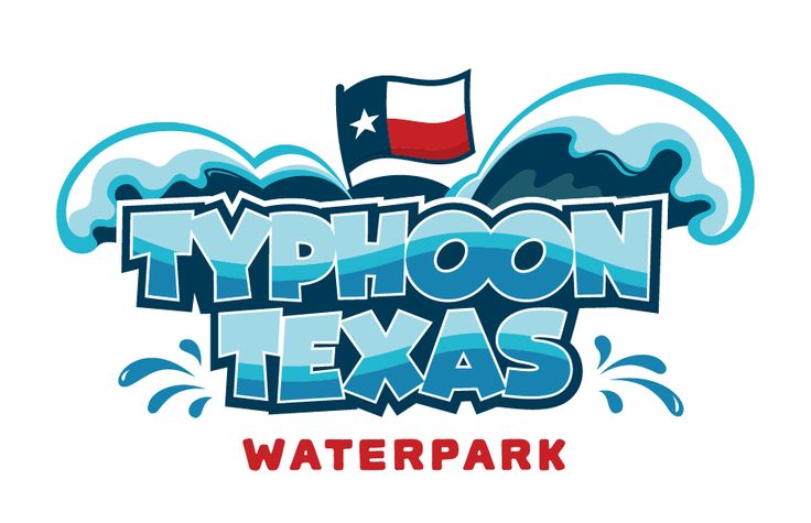 katy water park, typhoon texas waterpark, houston, logo design, brand identity, branding, test monki