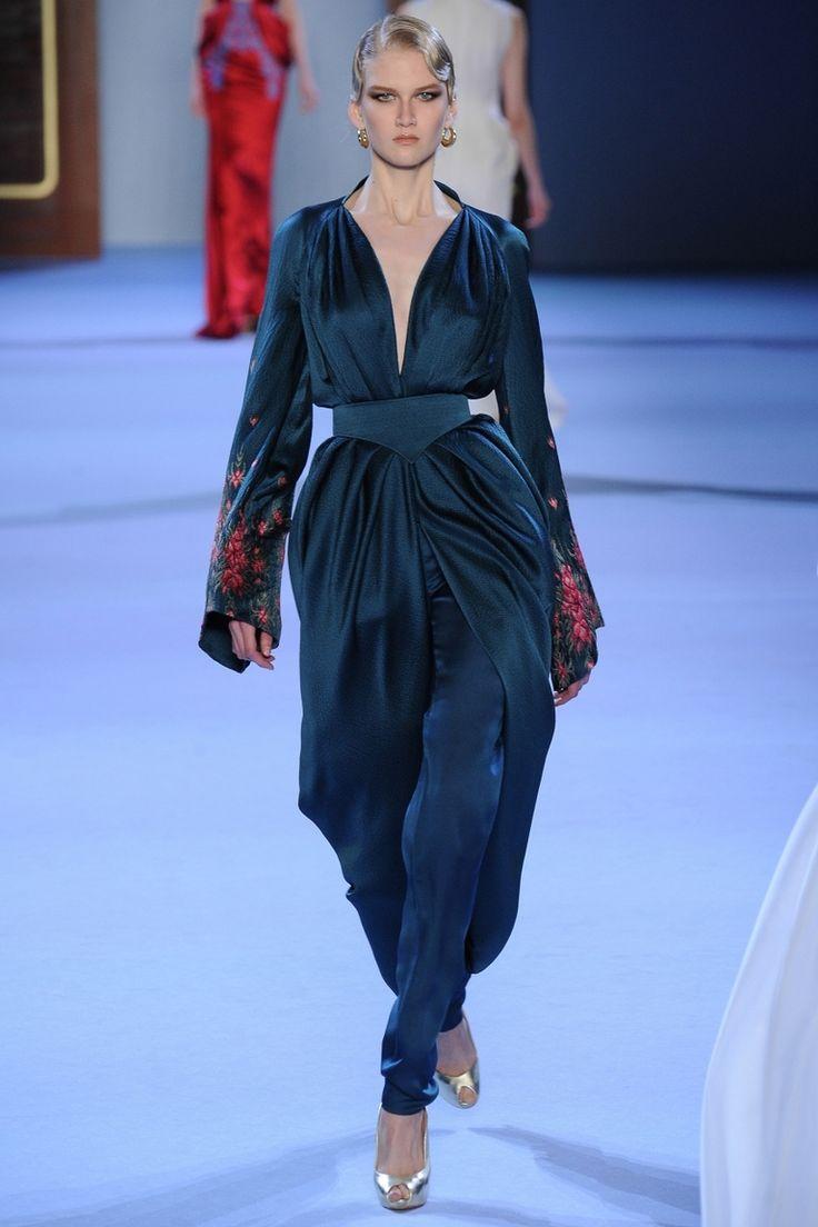 Ulyana Sergeenko   Коллекции весна-лето 2014   Париж   VOGUE