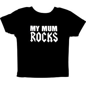 My Mum Rocks Barn T-shirt