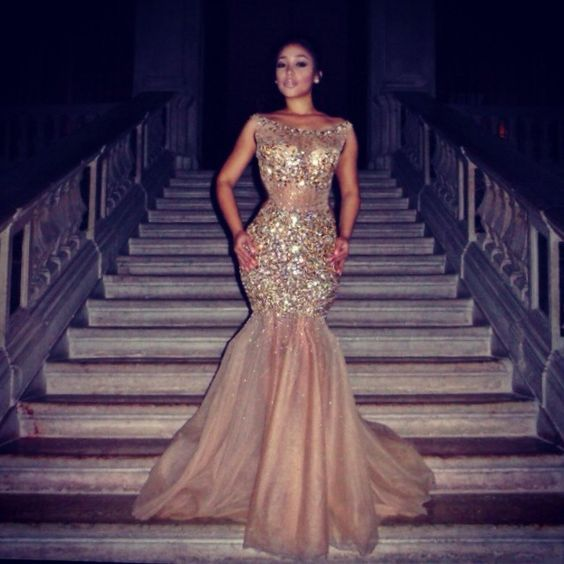 1000  ideas about Champagne Prom Dresses on Pinterest | Beautiful ...
