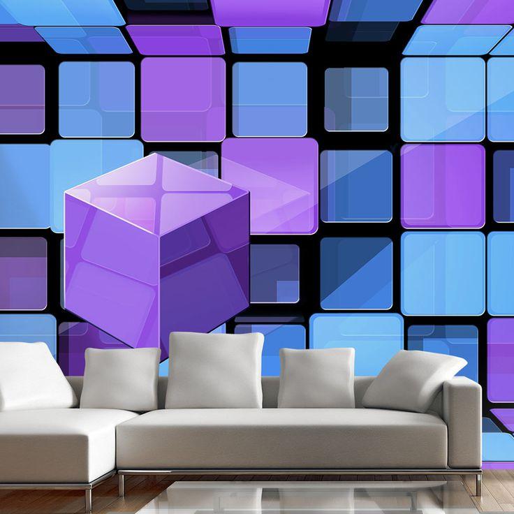 Luxusní barevná tapeta