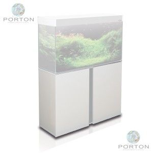 Emotions Nature 80 Cabinet - Brushed Aluminium White also available in 70litre 100L and 120L