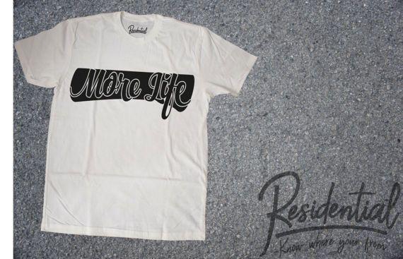 Drake More Life Shirt More Life Drake Shirt by ResidentialApparel
