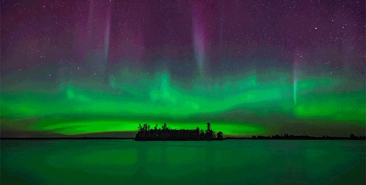 The Northern Lights Look Absolutely Breathtaking in This Timelapse Video