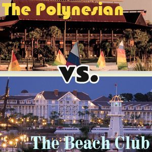 The Polynesian vs. The Beach Club - Which is the better choice for you