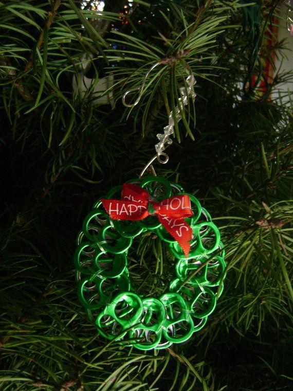 Haz tus propios adornos navideños con elementos reciclados