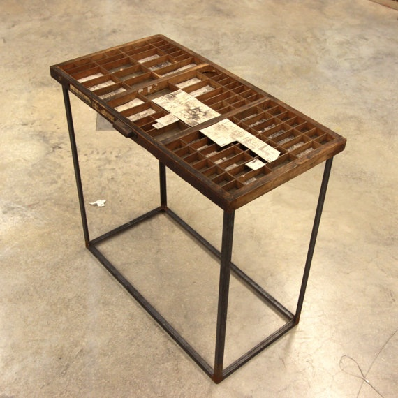 Letterpress Tray Coffee Table: 17 Best Images About Letterpress Drawers On Pinterest