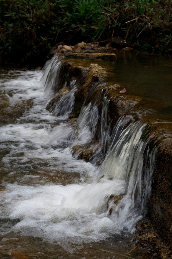 Falls On Mason's Creek by GPNaturePhotos on Etsy