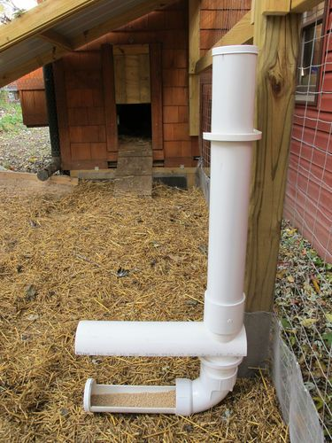 Automatic Gravity Feeder Rain Guard for Chicken Coop Hen Poultry | eBay