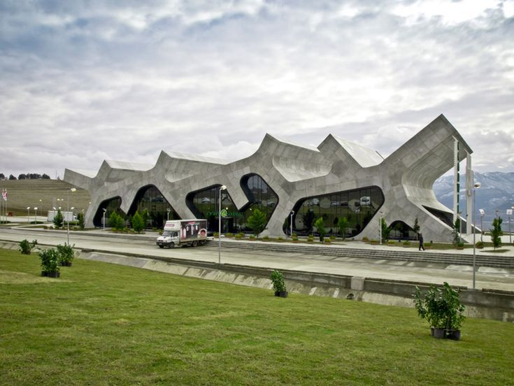 So amazing!!! Rest Stops by J. MAYER H. Architects