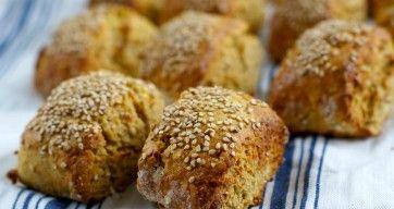 Glutenfri proteinrundstykker