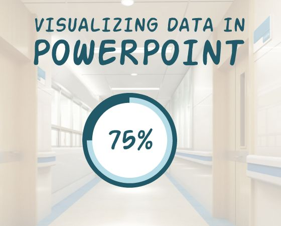 Download this free Powerpoint template to transform your data into an interactive circle graph.