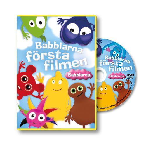 Youtube-fenomenet Babblarna har släppt sin första DVD efter succén på Youtube. De animerade figurerna Babblarna tar steget från sångfilm till långfilm!