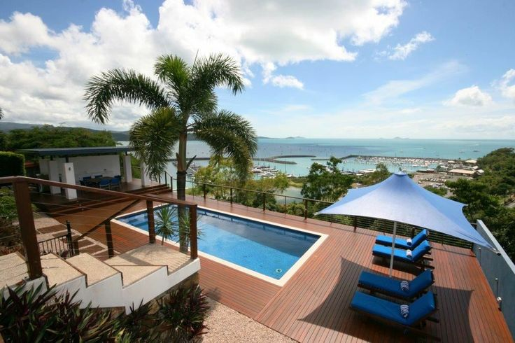 This spacious #contemporary #coastal living home has one of the best views from a residence anywhere in the #Whitsundays.  14 Kara Crescent   North #Queensland #Coast & #Hinterland   #Australia   Luxury Property Selection