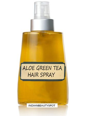 Aloe Vera Hair Spray for hair growth : ♥ IndianBeautySpot.Com ♥