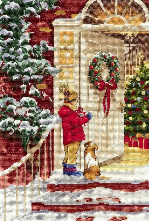 Personal Delivery Cross Stitch Kit £22.99 | Past Impressions | DMC