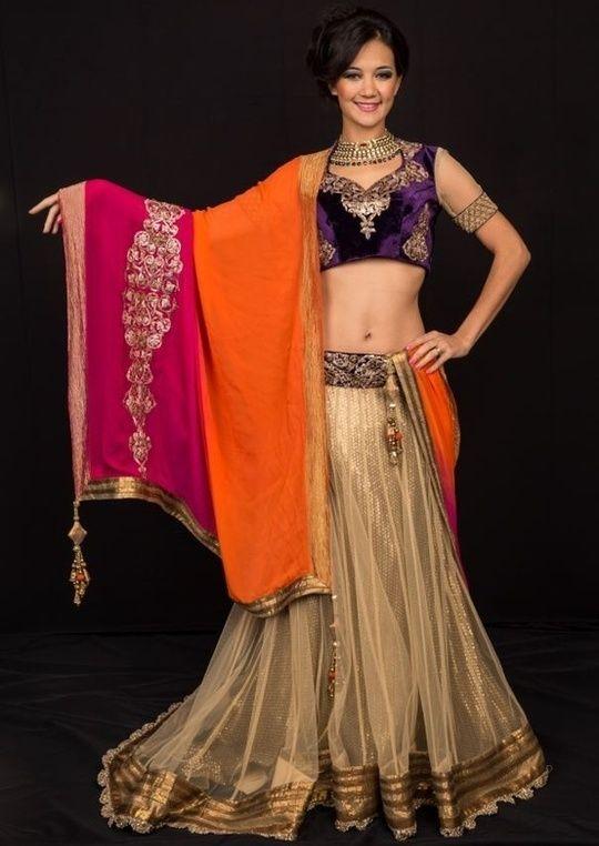 Shyamal-Bhumika Lehenga: Perfect Engagement Attire for Indian Brides