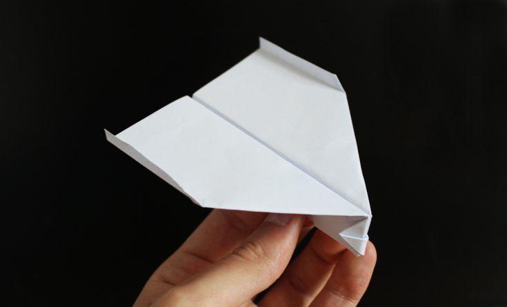 Weltrekord-Papierflieger bauen von Takuo Toda (HD, Tutorial, German, Deu...
