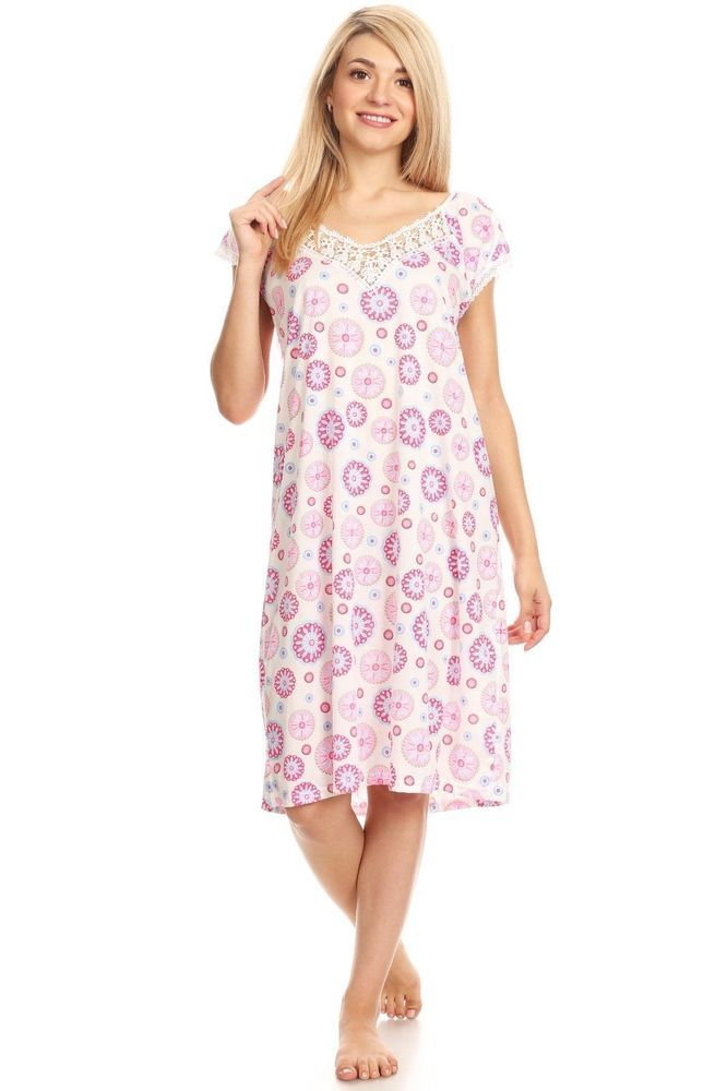 a65cc09876 333803 Women Nightgown Sleepwear Cotton Pajamas Sleeveless Sleep  DressNightshirt  fashion  clothing  shoes  accessories  womensclothing   intimatessleep ...