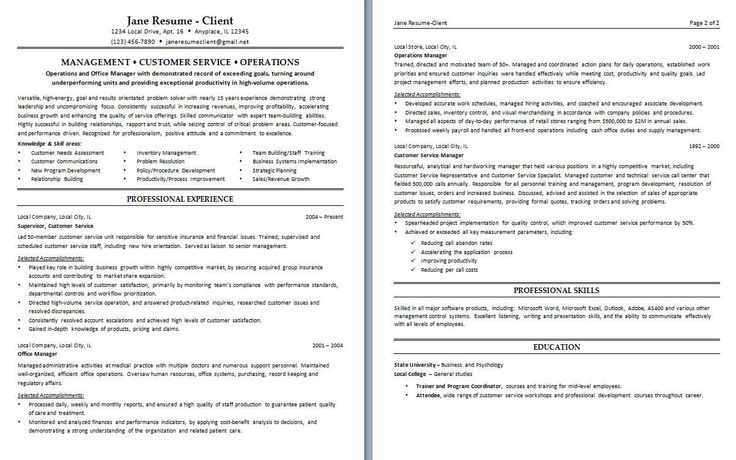 Customer Service Resume, Resume Examples And