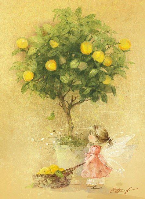 Фейка лимонного дерева © Екатерина Бабок