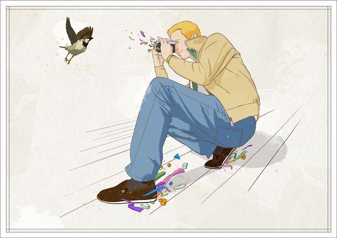 Faunesque, illustrateur, agence Marie Bastille // cette image appartient à son auteur et/ou l'agence Marie Bastille + d'infos sur le site //