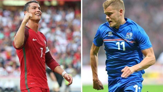 Portugal vs. Islandia: día, hora y canales por Eurocopa Francia 2016.
