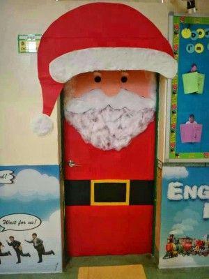 collage puertas navidad puertas