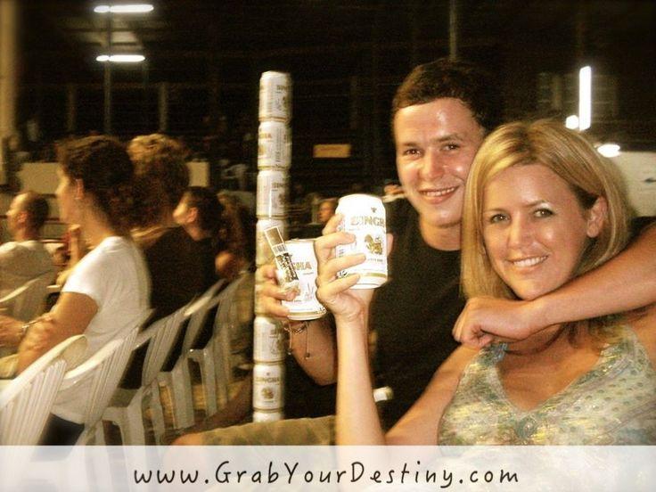 Spending the evening with friends at Thapae Boxing Stadium! in Chiang Mai, Thailand #MuayThai #Travels #GrabYourDestiny #Friends #Thailand #ChiangMai #JasonAndMichelleRanaldi   www.GrabYourDestiny.com