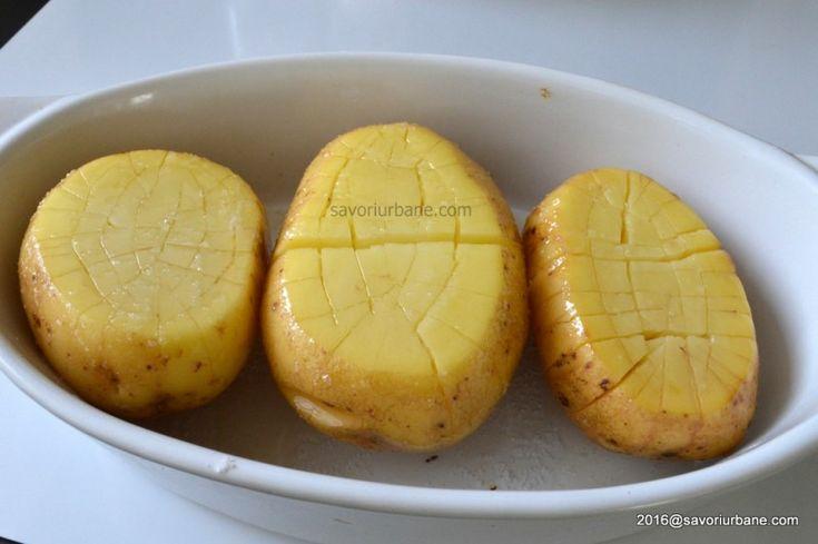 Cartofi impanati cu cascaval la cuptor (10)
