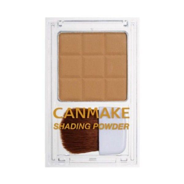キャンメイク シェーディングパウダー03 ハニーラスクブラウン 4.4g ($18) ❤ liked on Polyvore featuring beauty products and makeup