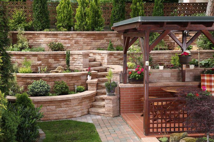 CSB - NATURBLOK, luxusní betonový systém pro stavbu betonových plotů i okrasných moderních zdí. #beton #zahrada #architektura #stavbyjakozkamene #csbeton #concrete #garderarchitecture