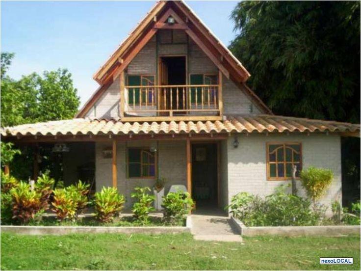 M s de 25 ideas incre bles sobre fachadas de casas - Construccion casas de campo ...