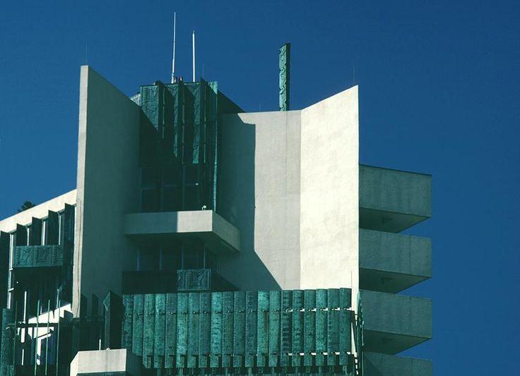 56 best price tower images on pinterest bartlesville for Frank lloyd wright bartlesville