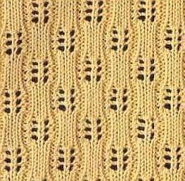 Knitting pattern caterpillars, model ajur pentru tricotare bolero, haine de vara, etc.