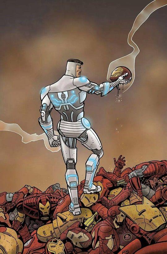 """Homem de Ferro Superior: Meu """"eu"""" de contigência"""