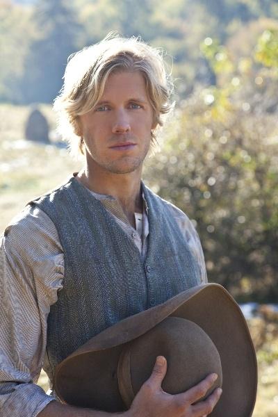 Johnse Hatfield (Matt Barr). Who knew history could be so hot?